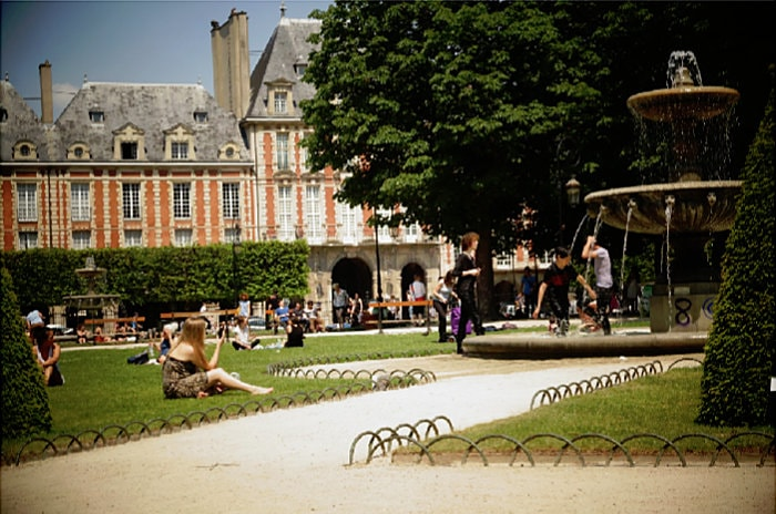 A Park in France
