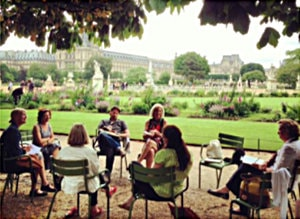 Left Bank Writers Retreat in Paris