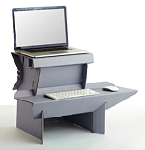 "Ergodriven Spark ""Start Standing Now"" Standing Desk"